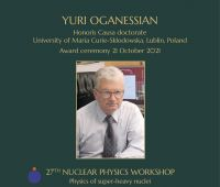 Konferencja naukowa 27th Nuclear Physics Workshop...
