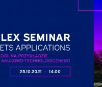 25 października 2021r. ECOTECH-COMPLEX Seminar. Where...