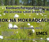 "Konkurs fotograficzny ""Rok na mokradłach"""