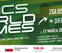 UMCS World Games – zgłoś swoją drużynę już teraz