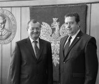 Wizyta Ambasadora Ekwadoru