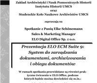 Prezentacja ELO ECM Suite 9: Systemu do zarządzania...