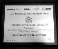 Wyróżnienie dla Rektora UMCS za zasługi dla sportu