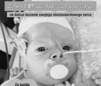 Zosia potrzebuje jeszcze 200.000 euro