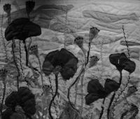 """Wystawa: """"tkaniną malowane """" – Oliwia Dryło"""