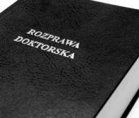 Ogólnopolski Konkursu na najlepszą rozprawę doktorską