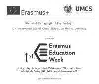 1st Erasmus Education Week na WPiP