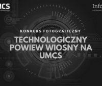 Konkurs fotograficzny: Technologiczny powiew wiosny na UMCS