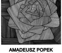 """Wystawa  Amadeusza Popka """"Między liryką a..."""