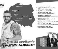 Spotkanie z Pawłem Fajdkiem na UMCS - 26.11.2018 r.