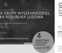 """""""Szkoła Wyszehradzka"""" - inauguracja (3.04.2019)"""