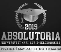 Absolutoria 2019 - zapisy przedłużone do 10.05.2019 r.