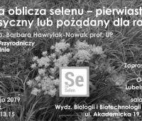 Wykład dr hab. Barbary Hawrylak-Nowak