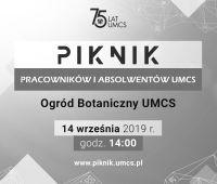 Trwa rejestracja na Piknik Pracowników i Absolwentów UMCS