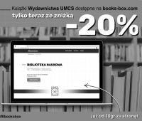 Książki Wydawnictwa UMCS na platformie Books-box