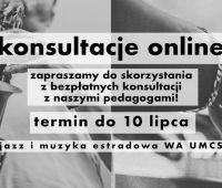 Konsultacje online dla kandydatów na #jazzUMCS