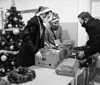 Подарки от Святого Николая жителям общежитий UMCS