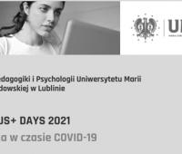 Zapraszamy  na Erasmus+ Days 2021