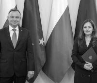 Gratulacje dla prof. dr hab. Małgorzaty Wiśniewskiej z...