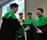 Prof. Jean Poesen doktorem honoris causa UMCS