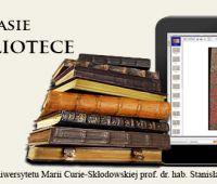 Biblioteka w czasie - czas w bibliotece