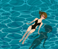 Sabina Jędrysik - nowy instruktor nauk pływania CKF