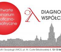 Zapisy na warsztaty: Diagnozy współczesności