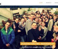 Nowa strona Duszpasterstwa Akademickiego UMCS