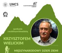 Spotkanie z Krzysztofem Wielickim - Dzień Ziemi 2016