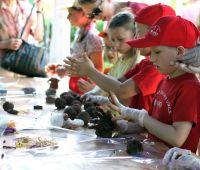 Archeologia na Pikniku UMCS z okazji Dnia Dziecka