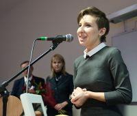 Mgr Ewa Bulisz z Akademickim Laurem Dziennikarskim
