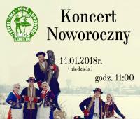 Koncert Noworoczny Zespołu Tańca Ludowego
