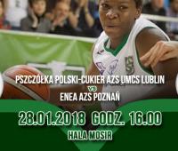 Zaproszenie na mecz Pszczółki Polski Cukier AZS UMCS Lublin