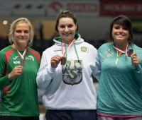 Dwa medale Halowych Mistrzostw Polski