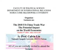Zapraszamy na wykłady prof. Calvina Lin