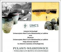 Zaproszenie na otwarcie wystawy archeologicznej (Muzeum...