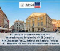 Call for Abstracts - 2019 RSA Central and Eastern Europe...
