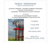 """Spektakl """"Herbert – (Nie)Istnienie"""""""