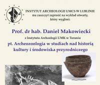 Wykład prof. dr. hab. Daniela Makowieckiego o...