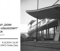 """Artystyczny """"Dom Społeczno-Usługowy"""" Chatka Żaka..."""