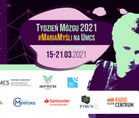 Tydzień Mózgu 2021 #MariaMyśli na UMCS