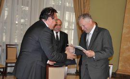 Podpisanie porozumienia o współpracy ze...