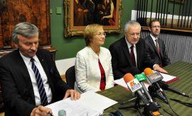 Konferencja prasowa podsumowująca obrady KRUP - 22.10.2014