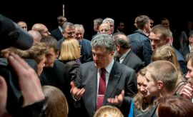 Wizyta prezydenta Ukrainy oczami studentów