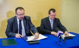 Podpisanie porozumienia z Polską Izbą Cła Logistyki i...