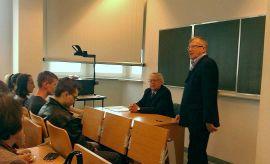 Wykład prof. Hartmuta Eggerta (6.10.2015)