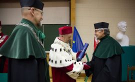 Prof. Andrzej Paszczyński - Honorowym Profesorem UMCS