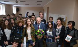 21.04.2016 - wizyta JM Rektora UMCS w Prywatnym Liceum...