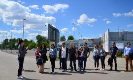 Studenci WE UMCS w Targach Lublin SA.