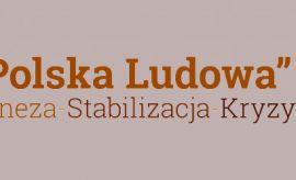 """Relacja z konferencji """"Polska Ludowa"""""""